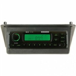 Radio Kit Am fm wb aux Stereo Black John Deere 4050 4240 4230 4630 4440 4430