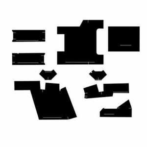 Cab Foam Kit With Headliner Black Compatible With Case 2590 2390