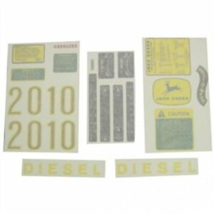 Decal Set John Deere 2010