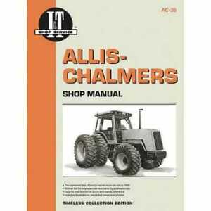 I t Shop Manual Collection Allis Chalmers 8070 8050 8050 8030 8030 8010 8010