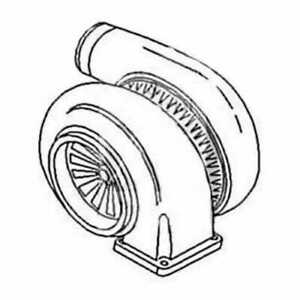 Turbocharger John Deere 5200 7520 5400 6030 Sm180729