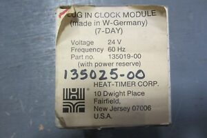 Heat Timer 135019 00 Plug In Clock Module