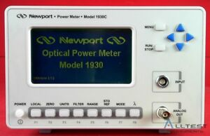 Newport 1930c Power Meter 1930 c
