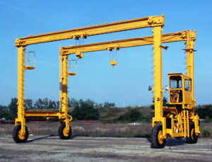 Drott 250 A1 Travel Lift Mobile Gantry Crane 12 5 Ton Cap 30 Ft Between Wheels