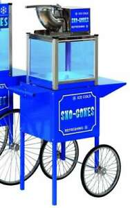 Commercial Arctic Blast Icee Snow Cone Machine Maker Shave Ice Concession Cart