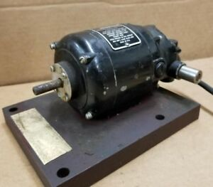 Gerald K Heller Co Variable Speed Reversible Motor 2t60 18 1992u