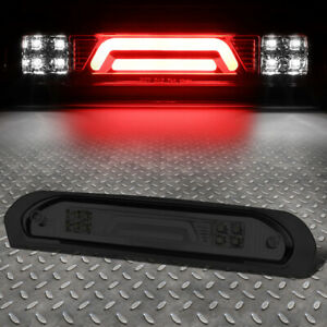 3d Led Bar For 02 09 Dodge Ram Smoked Third 3rd Tail Brake Light W Cargo Lamp