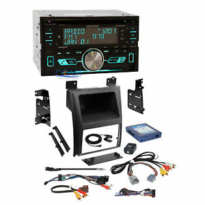 Kenwood Sirius Bluetooth Stereo Dash Kit Bose Harness For 07 Cadillac Escalade