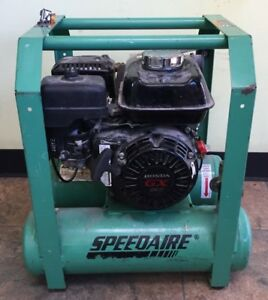Speedaire 5 Gal 4 0 Hp Carry Portable Gas Air Compressor 4gb42 spg026982