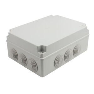 300x220x120mm Outdoor Electronic Terminal Junction Box Cover Case