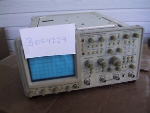 Calibrated Refurbed Tektronix 2465b Oscilloscope With Tv Sync Option 5