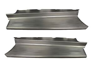 1942 1946 1947 Ford Pickup Truck 1 2 Ton Steel Running Board Set Ribbed New