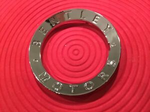 100 Brand New Oem Original Bentley Chrome Ring Wheel Center Hub Cap 3w0601165