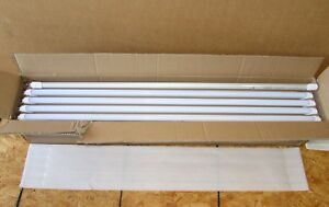 T8 12 Frosted Led Tube With Internal Driver 4 Ft 12 Watt 5000k lot Of 30