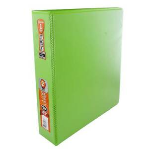 Wilson Jones 2 inch Chartreuse Heavy Duty Round Ring View Binders With Extra