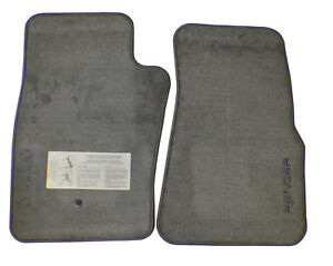 1993 2002 Ford Ranger Truck New Factory Oem Genuine Original Floor Mats Gray