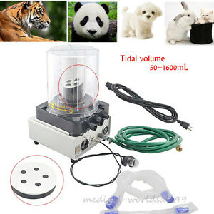 Livestock Veterinary Anesthesia Ventilator Pneumatic Driving Electronic 25 W