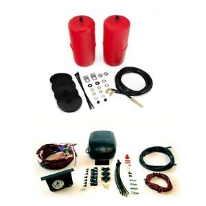 Air Lift Front Air Spring Kit Load Controller 2 System gauge For C10 jimmy
