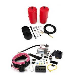 Air Lift Air Spring Front Kit Wireless Air Dual Compressor System For Blazer