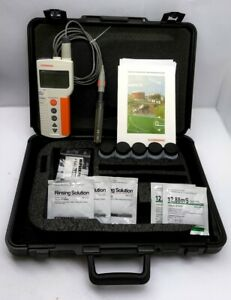 Corning 316 Conductivity Meter W Case Probe Manual Range 0 00 199 8ms