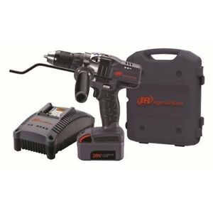 Ingersoll Rand 20v 3 0 Ah Cordless Lithium Ion 1 2 In Drill Driver Kit D5140 K1