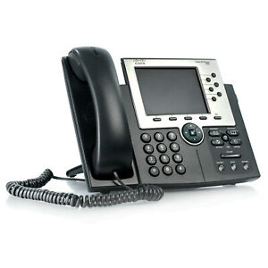 Cisco Ip Phone 7965 Cp 7965g Voip Unified Color Display Office Business Phone