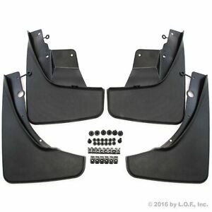 2011 2017 Jeep Grand Cherokee Mud Flaps Mud Guards Splash Molded Front Rear 4pc