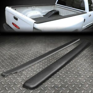 For 93 11 Ford Ranger Mazda B Series 6ft Satin Black Truck Bed Caps Rail Molding