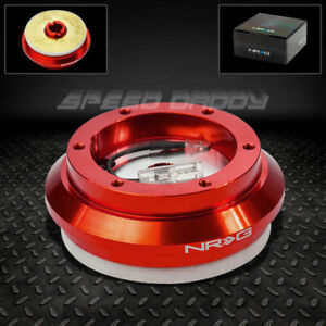 Nrg Steering Wheel Short Hub Adaptor 94 07 Honda Accord 11 Civic s2000 rsx Red