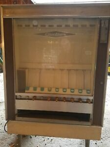 Vintage National Mechanical Chip Snack Vending Machine M m s Frito Lays 1970s