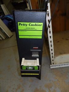 Petty Cashier Pc 100 Dollar Bill Changer For Vending Machine Parts With Manual