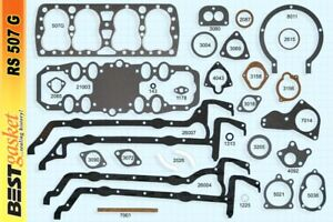 New 1932 38 Ford 21 Stud Flathead Engine Gasket Set Best Brand Graphtite Rs507g