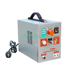 2 In 1 1 9kw Spot Welder With Soldering Iron Staion 709a Battery Welding Machine