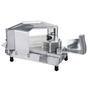 Commercial Tomato Slicer Onion Slicing Cutter Vegetable Manual Cutting Machine