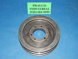 6 6x2b sds Pulley Sheave Double Groove 6 15 16 6 9375 Outside Diameter