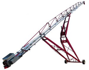Chain Commander 130 Portable Chain and paddle Conveyor W drive over Grain Pump