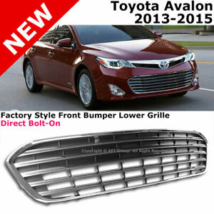 Lower Front Bumper Radiator Grille Toyota Avalon 2013 2015 Direct Replacement