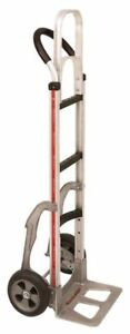 Magliner Hand Truck one Keg 55 Tall Vinyl Grip Handle 14 Nose 8 Tire