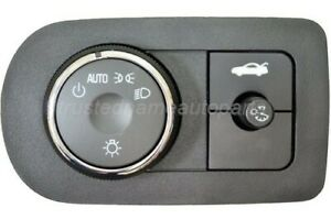 Headlight Instrument Panel Dimmer Switch Trunk Lid Release Switch