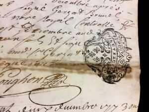 Antique Parchment 1773