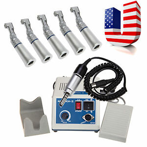 35k Rpm Marathon Dental Lab Electric Micromotor N3 5 Slow Contra Angle Fit Nsk