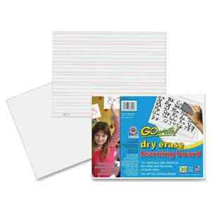 Gowrite Dry Erase Learning Boards 30 Sheets
