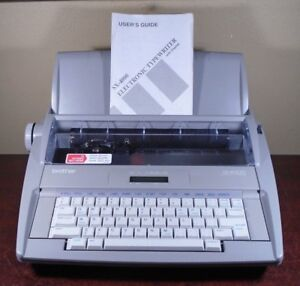 Brother Sx 4000 Electronic Typewriter types But Has Issues For Repair parts