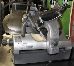Used Hobart 2912 Automatic 12 Meat Cheese Deli Slicer
