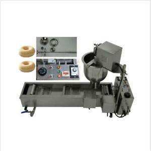 Ce Approved Commercial Automatic Donut Fryer maker Making Machine 3 Set Mold E