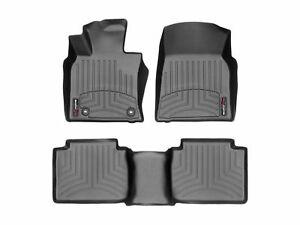 Weathertech Floorliner Floor Mats For Toyota Camry 2018 2019 Full Set In Black