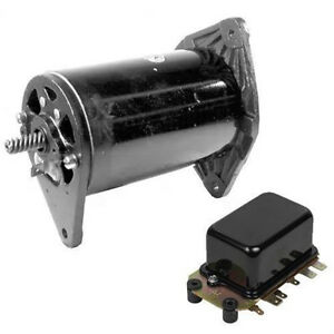 Generator W Voltage Regulator For Ford Tractor 2000 3000 4000 5000 7000 8000