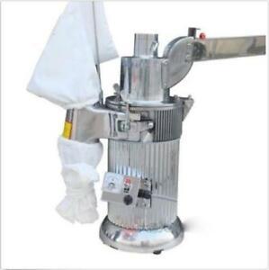 Df 20 Automatic Continuous Hammer Mill Herb Grinder Pulverizer 220v 110v E