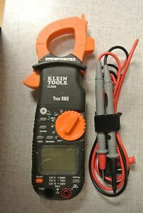 Klein Cl2000 400a Ac dc True Rms Clamp Meter With Test Probes z11