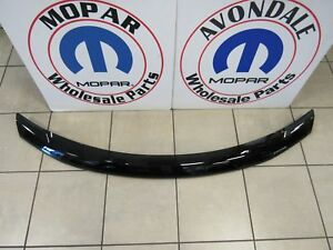 Dodge Journey Front Air Deflector Tinted W Dodge Logo New Oem Mopar